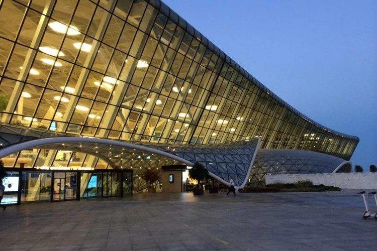 Heydar airport - Baku, Azerbaijan
