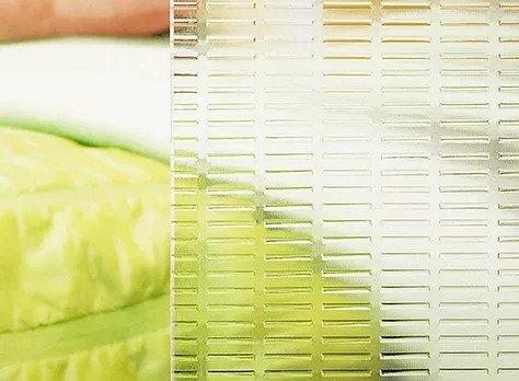 Ornamental pattern glass